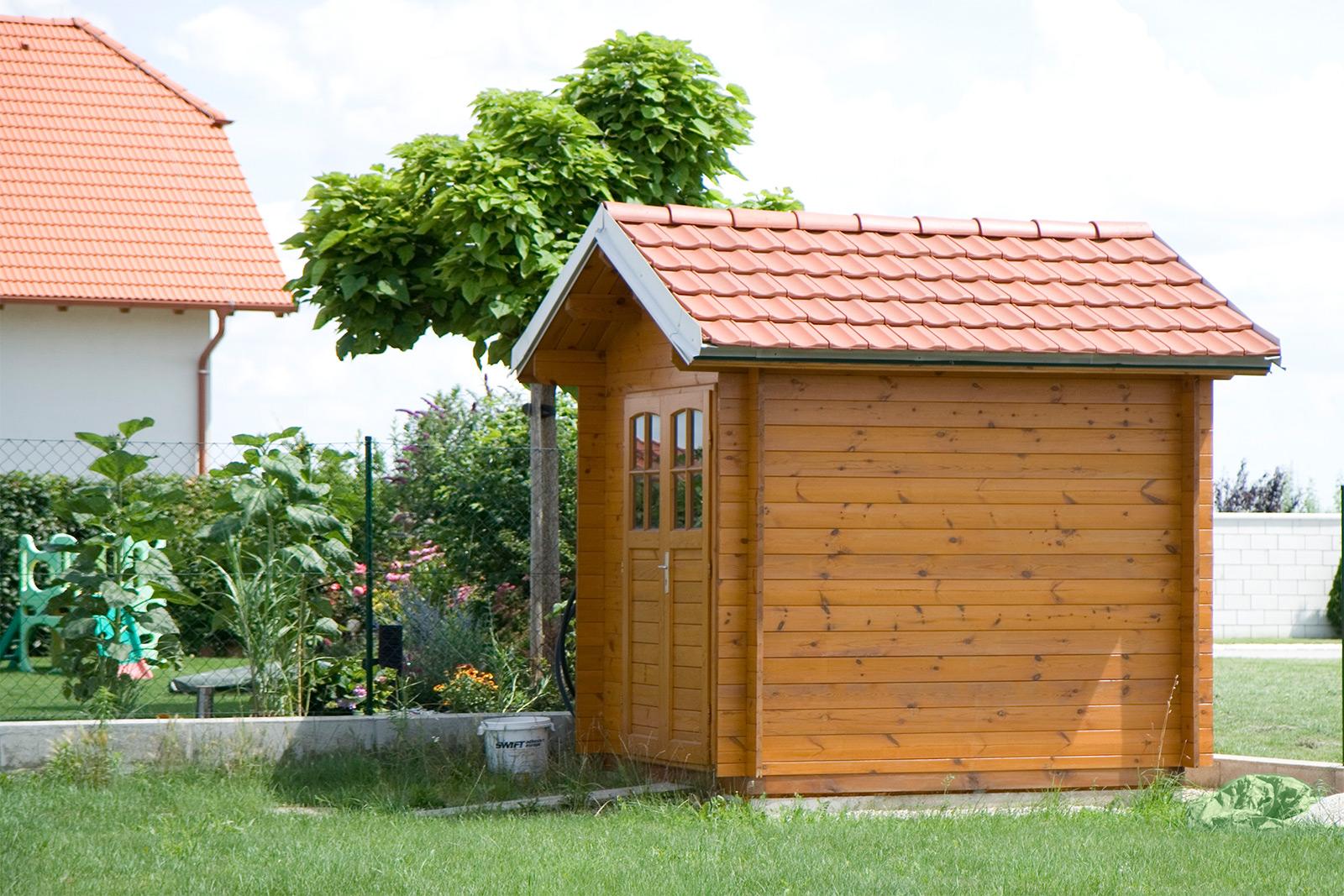 sauna / zäune /gartenhaus – pöll – komplett bedacht!