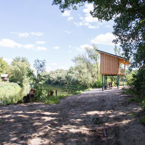 Pöll - Selbstbausatz Fischerhütte