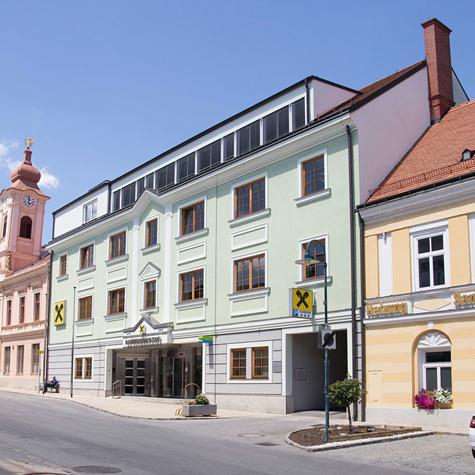 Pöll - Raika Zistersdorf - Aufstockung 2018