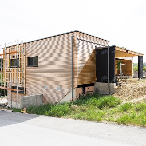 2019 Holzhaus - Holzrahmenbauweise