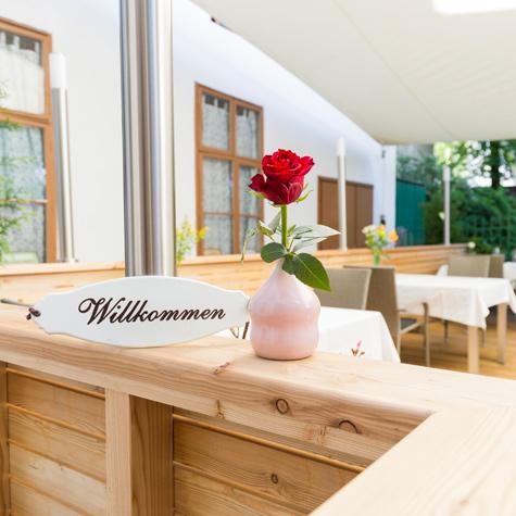 Foto von der Terrasse des Lokals Fuhrmann